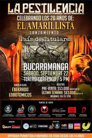 La Pestilencia En Bucaramanga