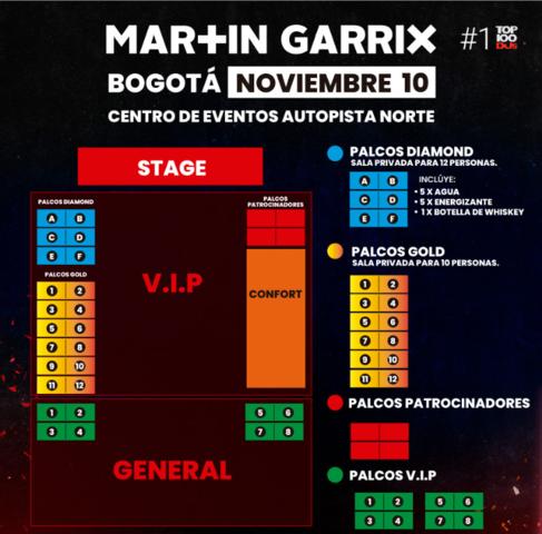 Martin Garrix en Colombia