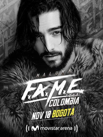 Maluma FAME Tour Colombia