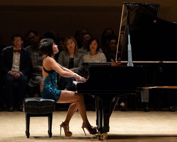 La pianista Yuja Wang llega a Bogotá