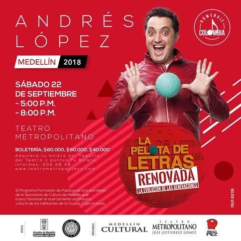 La Pelota De Letras Renovada - Andrés López