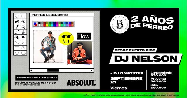 2do Aniversario de Bolivar con DJ Nelson