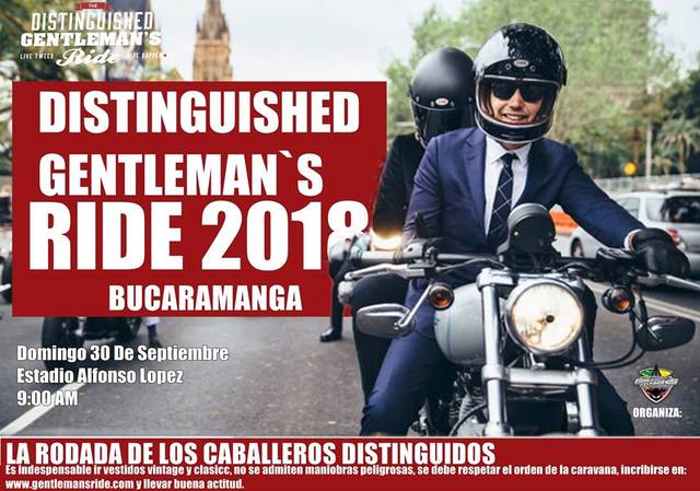 DISTINGUISHED RIDE 2018