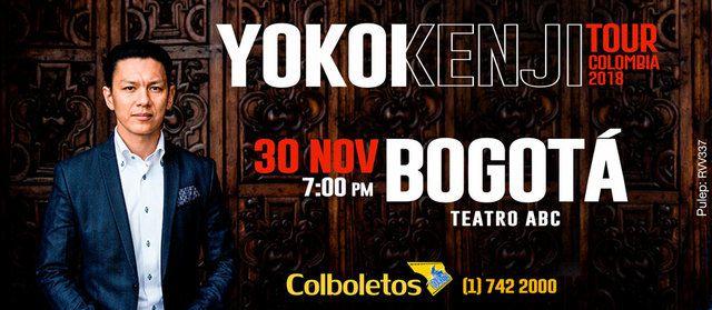 Yokoi Kenji en Bogotá