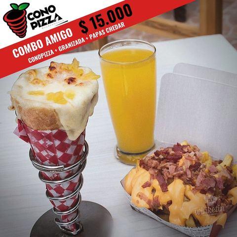 Promo De Cono Pizza Fin De Semana