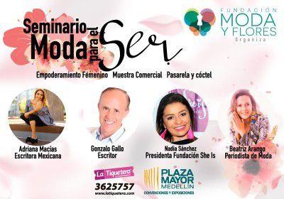 SEMINARIO MODA PARA EL SER