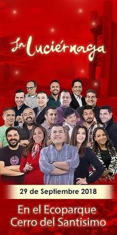 El show de La Luciérnaga en vivo.