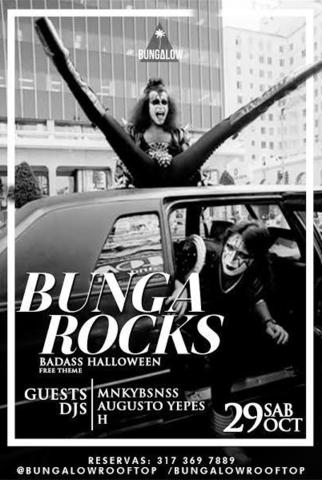 BungaRocks Badass Halloween Party.