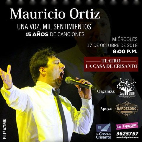Concierto de Mauricio Ortiz