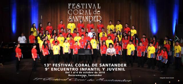 13° Festival Coral De Santander