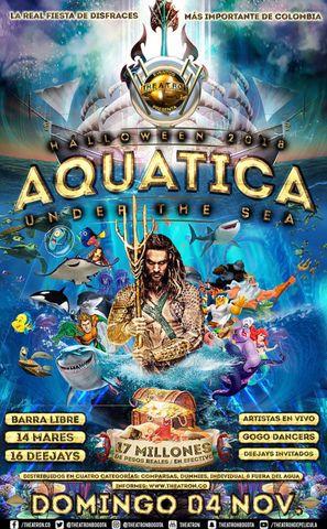 HALLOWEEN 2018, AQUATICA: UNDER THE SEA.