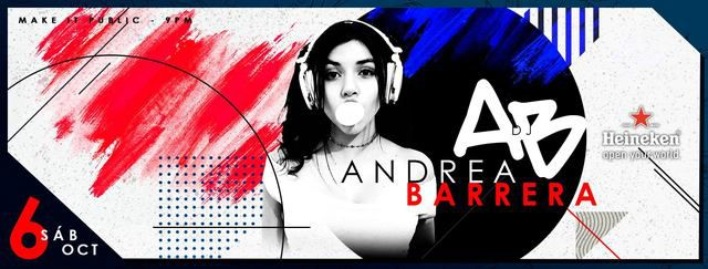 Andrea Barrera Dj Set