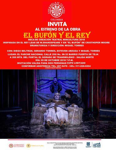 """""""EL BUFÓN Y EL REY"""""""