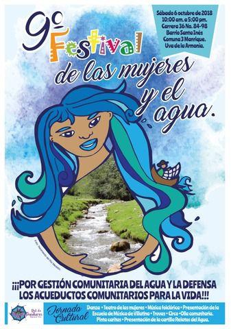 9no Festival de las mujeres y el agua.