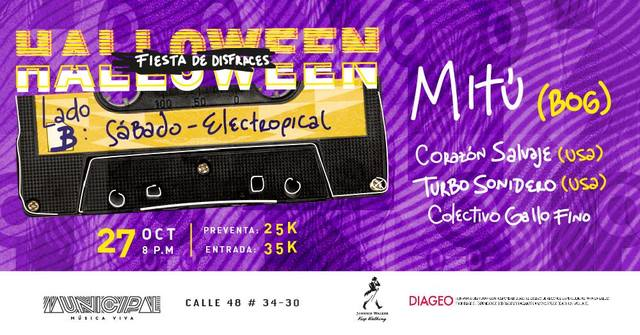 Halloween Lado B: Electropical
