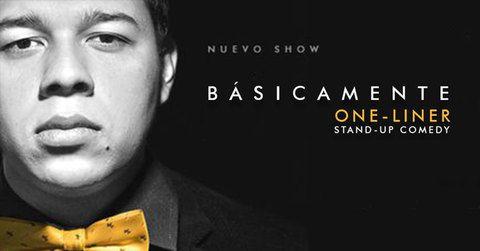 Anderson Niño presenta su show Básicamente