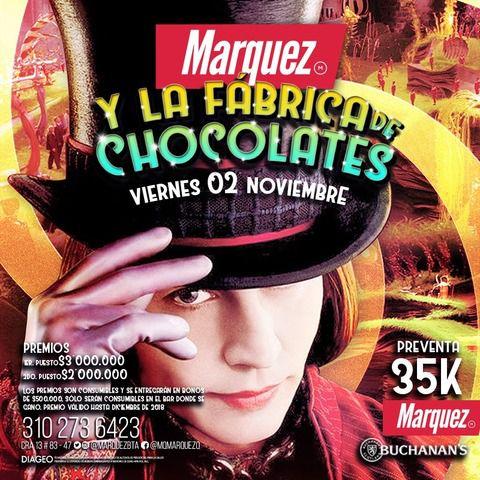 Marquez & la fabrica de chocolates.
