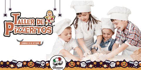 Taller de Pizzeritos Halloween