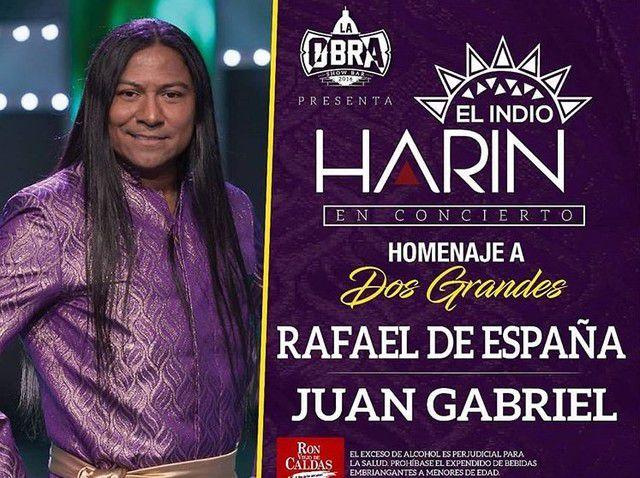 """Harin """"El Indio"""" En Concierto"""