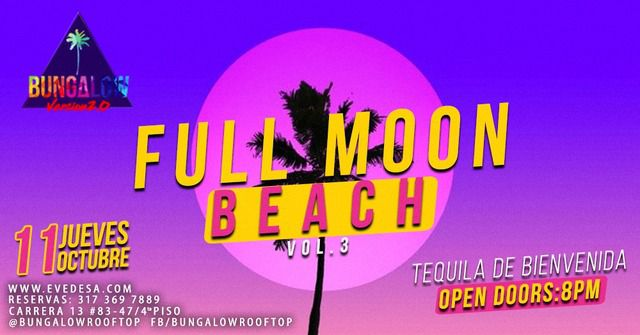 Full Moon Beach VOL3