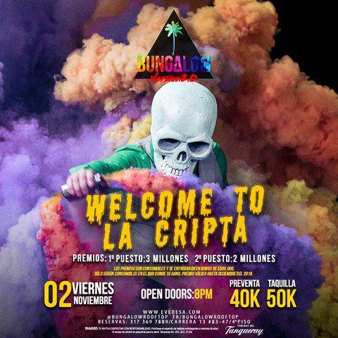 WELCOME TO LA CRIPTA