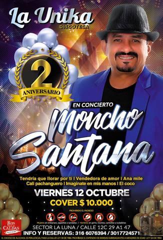 Moncho Santana en Conciertos