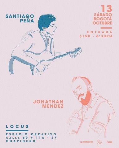 Méndez y Santiago Peña en vivo.