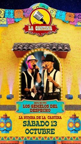 Show de Los Gemelos del Despecho