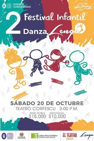 2 Festival Infantil de Danza