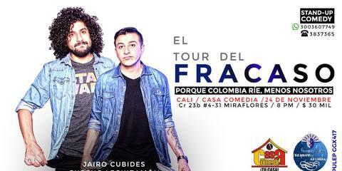 El Tour Del Fracaso Con Jairo Cubides y Checho Leguizamón