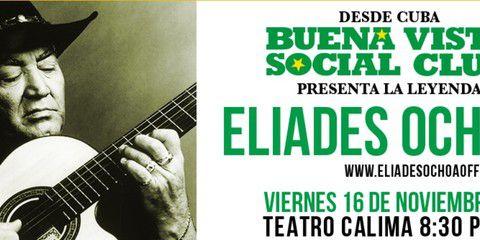 Eliades Ochoa en Concierto