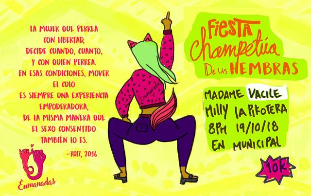 Fiesta Champetúa de las Hembras