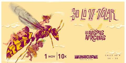 Concierto Avispas Africanas