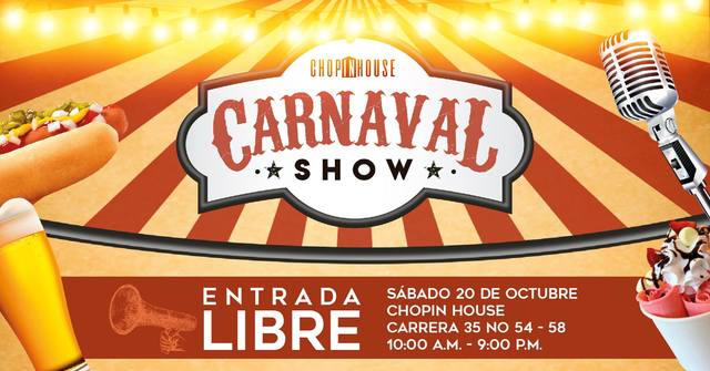 Carnaval Show - Chopin House
