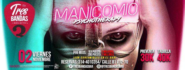 "MANICOMIO ""psychotherapy"""