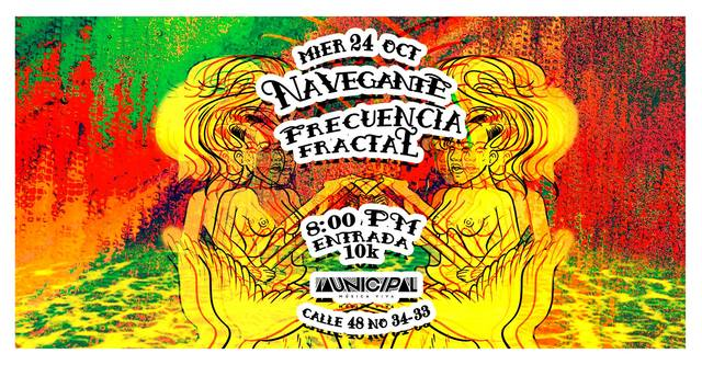 Concierto - Frecuencia Fractal & Navegante