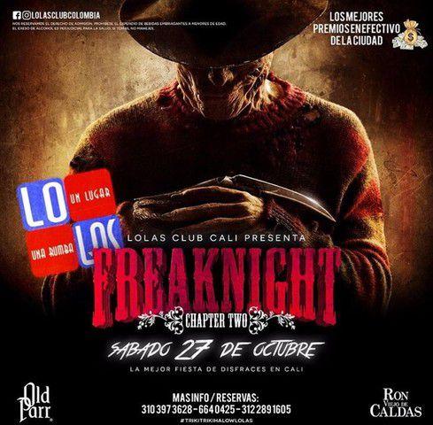 Freaknight en Lolas