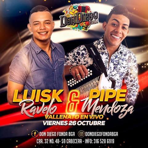 Luisk Ravelo y Pipe Mendoza