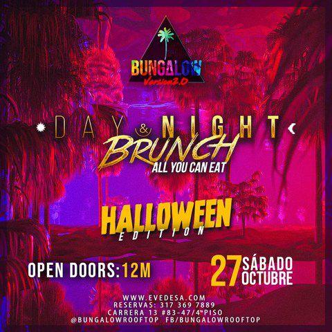 Day & Night Brunch - Halloween Edition.