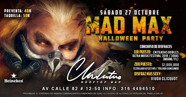 MAD MAX Halloween party.