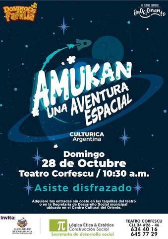 Amukan, una aventura espacial