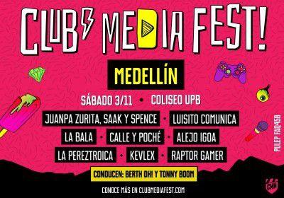 CLUB MEDIA FEST MEDELLÍN