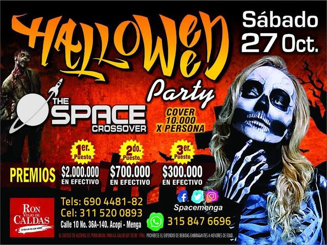Halloween Space Party