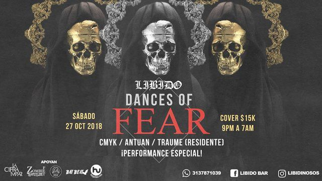 Dances of fear Halloween