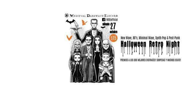 Halloween Retro Night