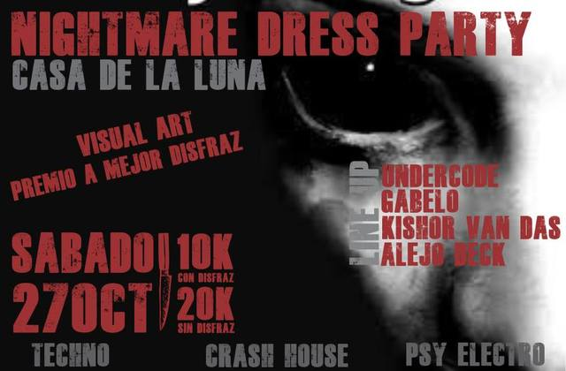 Nightmare Dress party