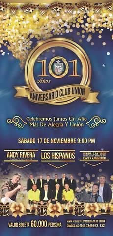Aniversario  Club Unión
