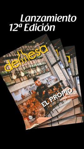 Lanzamiento Revista demesa Edición 12°.