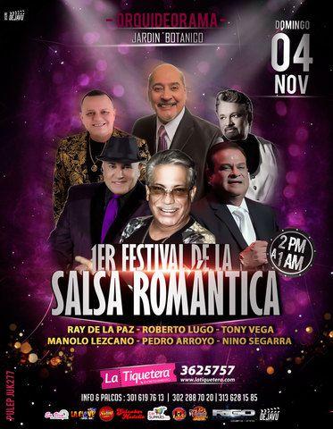 PRIMER FESTIVAL DE SALSA ROMÁNTICA