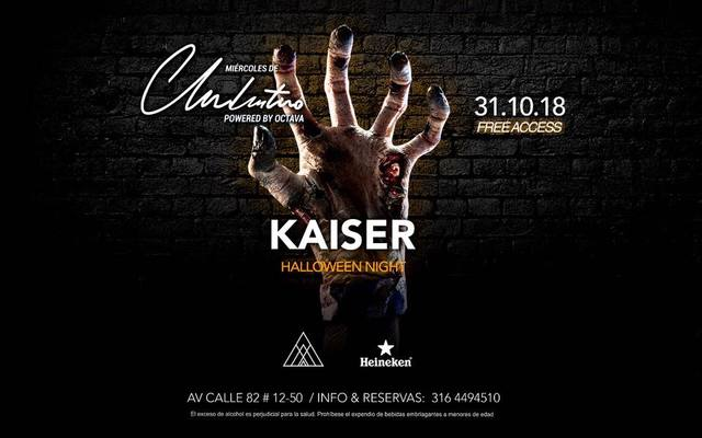 Halloween Night at Clandestino